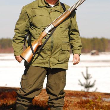 Quickshooter-hunting Svart syntetmaterial